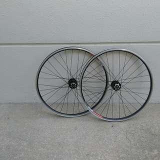26inch Alexrim wheelset