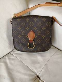Vintage Louie Vuitton St Cloud shoulder bag