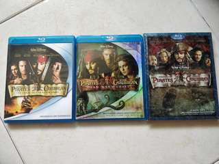 Pirates of Caribbean 1- 3