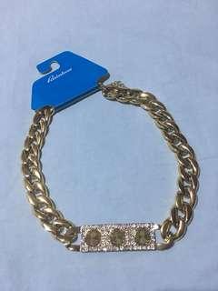 (brandnew) gold necklace