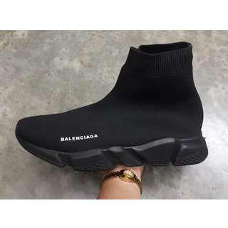 Balenciaga Speed trainer for Men (Available in Supreme and Mastermind Japan collaborations and OG Black/White, Triple Black, Black White Dual tone Sole)