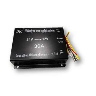 DC24 -12 30A – (Car power supply)