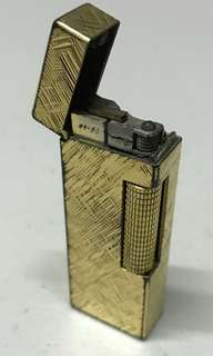 Dunhill vintage gold lighter