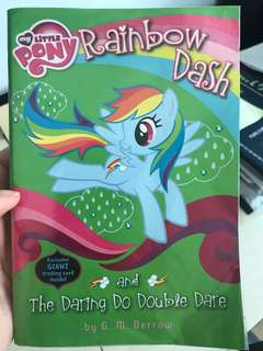 My Little Pony Rainbow Dash book (free local mail)