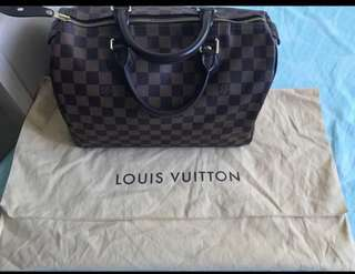 Authentic LV Speedy 30 DAMIER