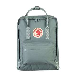 [PREORDER] FJALLRAVEN KANKEN CLASSIC BACKPACK (FROST GREEN/CHESS PARTERN)