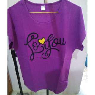 Lady T-Shirt (Purple)