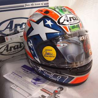 Arai Full face helmet RX-7X CORSAIR-X RX-7V Nicky Hayden