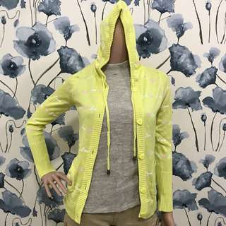 Revive yellow hearts jacket