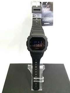 "DW-5600BB-1卡西歐品牌手錶""Casio""""G-Shock""日本機芯一年保養"