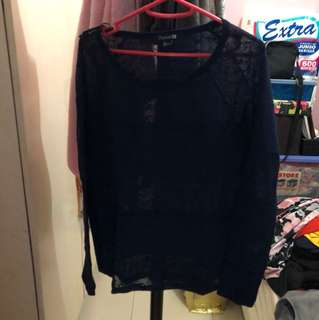 Forever 21 Long  Sleeves Lace