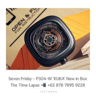 Seven Friday - P304-W 'KUKA' (New in Box)