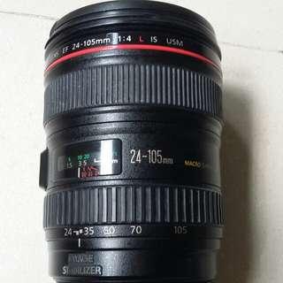 Canon ef 24 105mm f4L