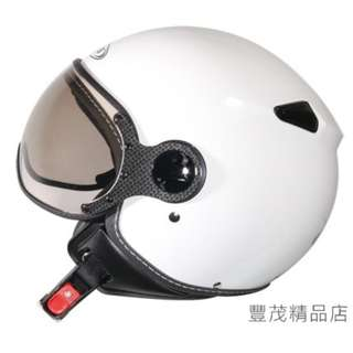 🚚 ZEUS 瑞獅 ZS-210C 210C 3/4罩/半罩/小帽款/小飛俠 安全帽- 素色 白