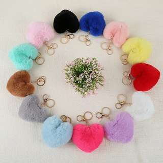 Heart Furr Bag Accessories