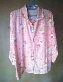 Hello Kitty Pink Sleepwear Top