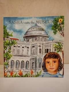 Sasha visits the museum