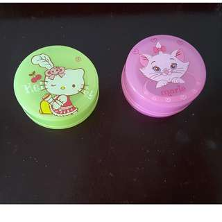 Hello Kitty & Marie small containers