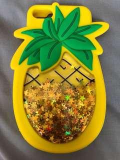 菠蘿流沙手機殼