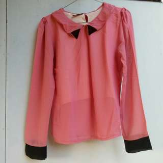 Blouse Pink Cute