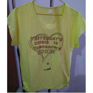 Lady T-Shirt (Yellow)