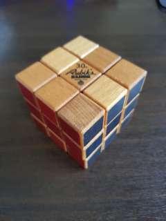 Rubik's Cube 30th Anniversary Wooden Edition
