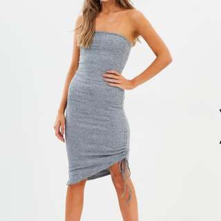 BNWT - Delphine Label strapless rouche dress 6