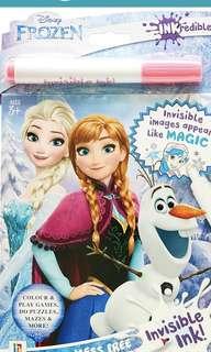 Frozen Disney inkcredible activity book