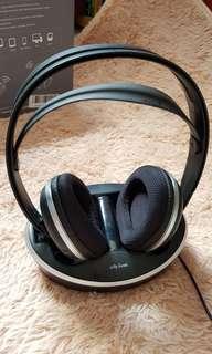 Wireless Stereo RF Headphone System