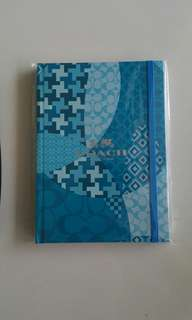 Coach Notebook + $50.00 NTUC Fairprice vouchers