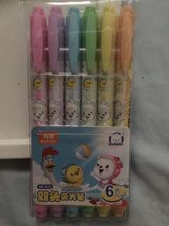 Highlight 6 Color Pen