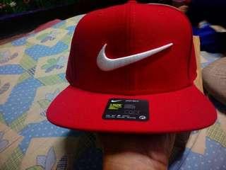 Nike snap back swoosh breds bnew