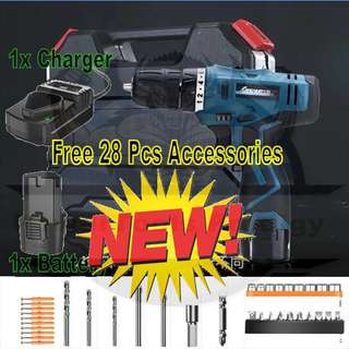 [NEW] 12V CORDLESS DRILL DRIVER / GOOD FOR HOME USE