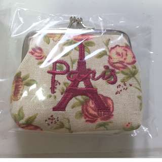Paris classy cloth purse with embroidery