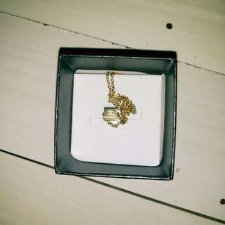 Stainless Gold Chanel Necklace