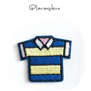 Bn Striped top iron on patch