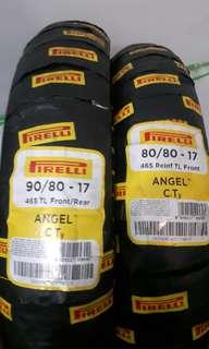 Pair Pirelli tires