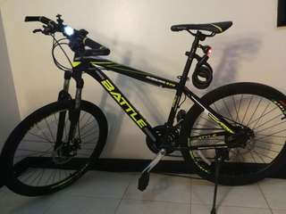 "Bicycle BATTLE MTB 24"" with 21 Shimano"