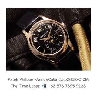 Patek Philippe - Annual Calender 5205R-010 Rose Gold