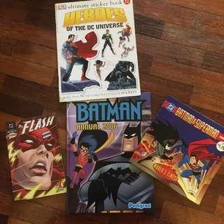 DC Comics Superheroes Books