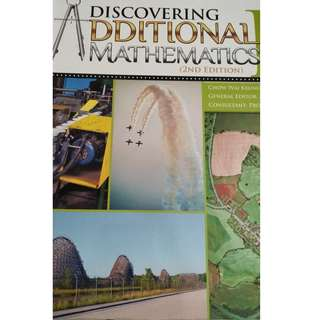 Discovering Additional Mathematics 2nd Edition