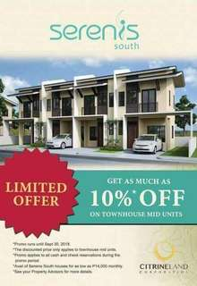 FOR SALE!!!🏡SERENIS SOUTH TALISAY CEBU🏡