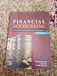 Financial accounting for non accounting student