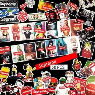 Supreme Collection Sticker 50pcs/set Pre-order