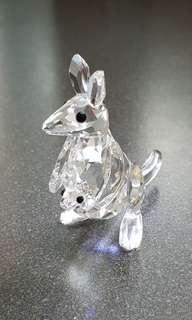 45 Swarovski Crystal - Kangaroo