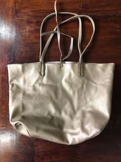 Gold Bag/Tote