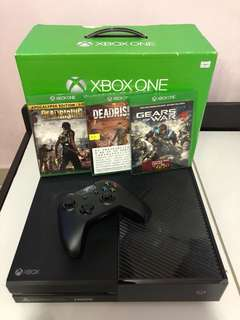 XBOX ONE 連 3 game