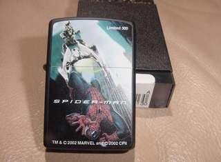 日本版ZiPPO打火機 SPIDER-MAN蜘蛛俠決戰Limited 300-第一代蜘蛛俠-