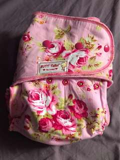 Floral Hybrid Cloth Diaper