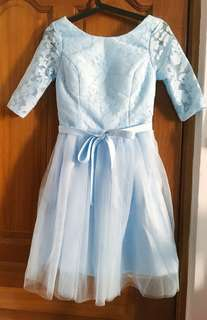 Maxi dress - sky blue